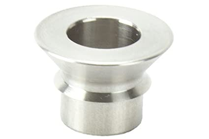 RuffStuff Specialties R1316 7/8 Inch to 3/4 Inch Spherical Rod heim Joint Safety Stainless Steel Misalignment Spacer Bushing