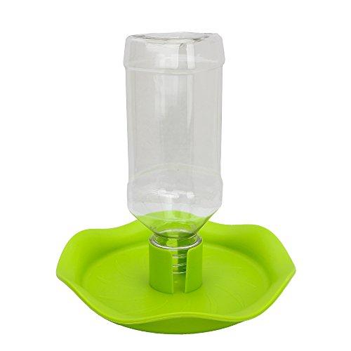 (Senzeal Reptile Food and Water Bowl for Pet Aquarium Ornament Terrarium Dish Plate Lizards Tortoises or Small Reptiles (NW-16-Lotus-leaf))