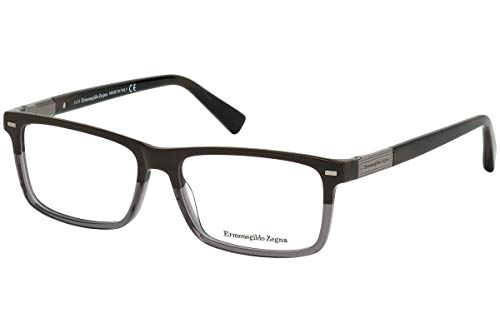 Ermenegildo Zegna EZ5046 - 062 Eyeglass brown horn for sale  Delivered anywhere in USA