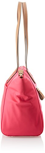 637e56e50fde Michael Michael Kors Kelsey Nylon Medium Top Zip Tote Handbag in Ultra Pink