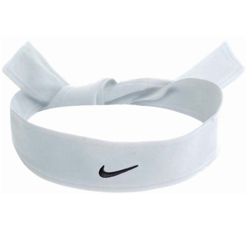 Nike Dri Fit Head Tie White by Nike