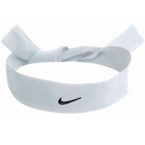 (Nike Dri Fit Head Tie White)