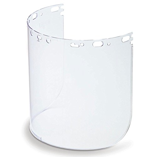 Honeywell 11390065 Protecto-Shield Replacement Polycarbonate Visor, Clear - Polycarbonate Visor