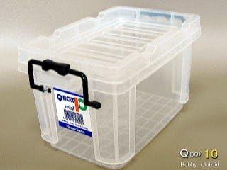 QBOX 10[コンテナボックス] 60ケース 【メーカー直送】北海道・離島不可