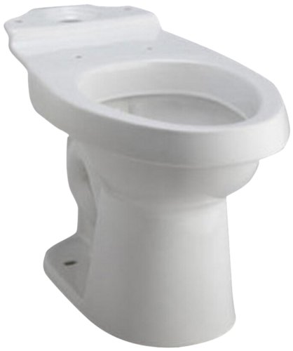 STERLING 402086-96 Karsten Dual Force Elongated Toilet Bowl, Biscuit KOHLER