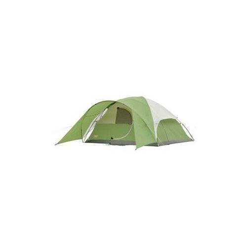 COLEMAN Dome Style - 8 Person(s) Capacity - 1 Room(s) - Polyester Taffeta, Polyester Mesh, Polyethylene, Fiberglass / 2000001587 /