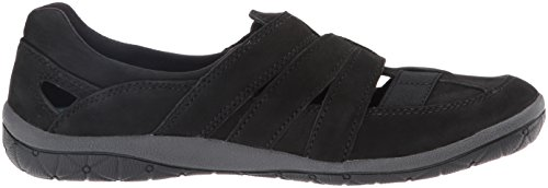 CLARKS Womens Teffa Adorn Fashion Sneakers Black Nubuck VF8amcOz