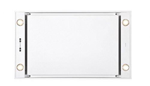 Novy Deckenhaube novy deckenhaube pureline 90cm weiß mit led 6831 amazon de elektro