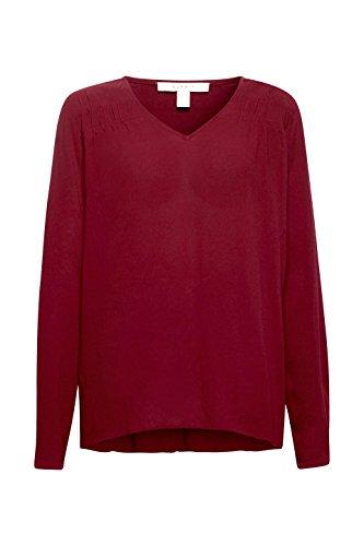 Blouse Esprit Rouge Femme Garnet 620 Red 0qwvRw