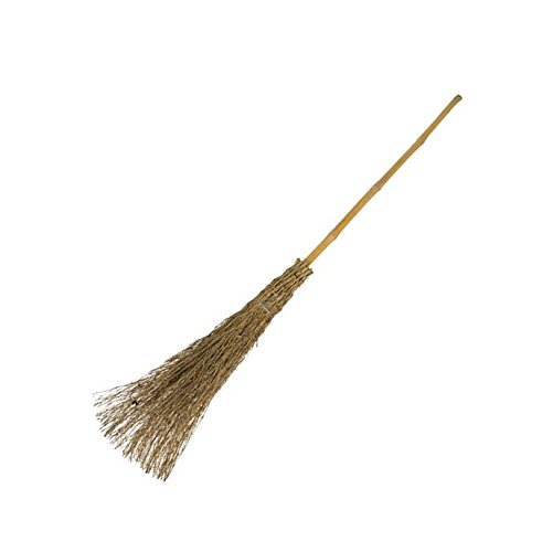 Besom Broom, Traditional Witches Broom Brush To Sweep Up The Leaves The Dustpan and Brush Store