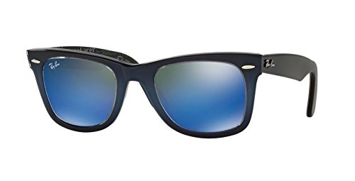 On Ban Grad mirror Light Top Blue Wayfarer Blue New Ray Rb2140 0Wpg711