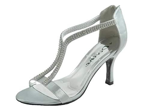 Sandales Divine Silver Divine Sandales Femme PZTx6