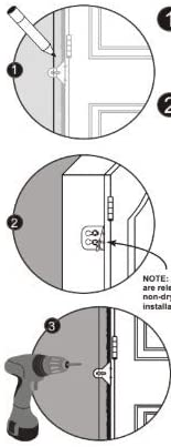 EZ-Hang Door Installation Kit No Shims Required Quick and Easy Door Hanging