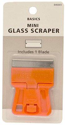 (50) Master Painter # GSM Pocket Size Mini Glass / Window Razor Scrapers by Master Painter