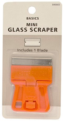 (150) Master Painter # GSM Pocket Size Mini Glass / Window Razor Scrapers by Master Painter