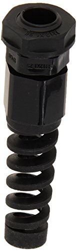 Morris 22562 Cable Gland with Strain Relief, Nylon, Metric Thread, 0.47
