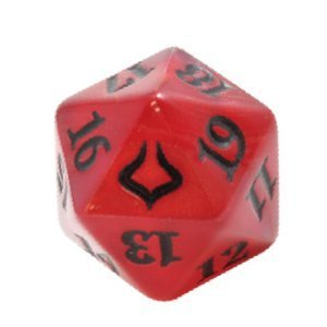Magic the Gathering D20 Hour of Devastation Spindown Life Counter Die