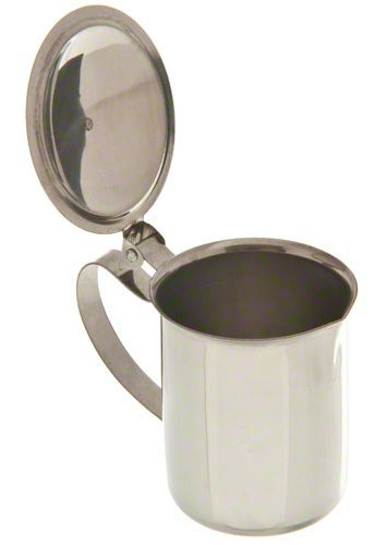Stainless Steel Sugar-Creamer Table Top Server - 10 Ounce Capacity by Pride Of India by Pride Of India (Image #1)