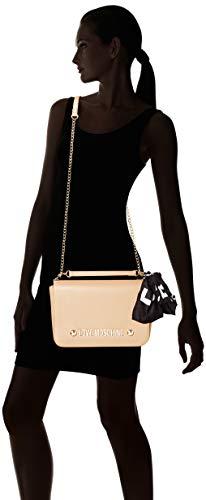 Bag Borsa Soft Love Shoulder Pu Grain Women's cammello Moschino Brown B1Etqw0