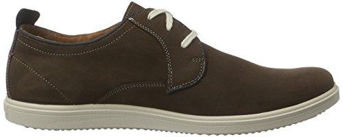 Jomos 1928 - Zapatos de cordones derby Hombre Multicolor - Mehrfarbig (choco/jeans 3088)
