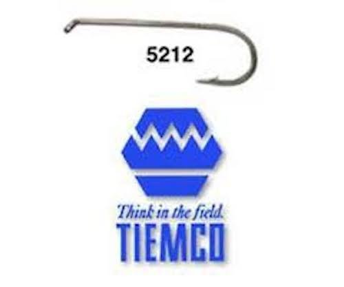 Umpqua Tiemco Fly Tying Hooks TMC 5212 (25 Pk) 16 (2x Long Nymph Hook)