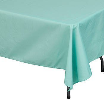 Amazoncom Mint Green Rectangle Polyester Tablecloth Home Kitchen