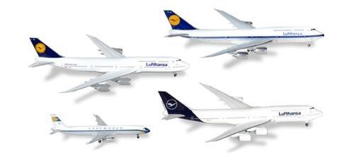 Herpa Herpa Herpa 531313 Lufthansa 4er-Set 2018 433c0f