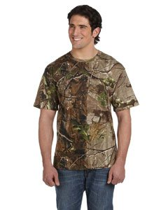 Code V 3980 Adult Camouflage T-Shirt, APG Realtree HD, 2XL