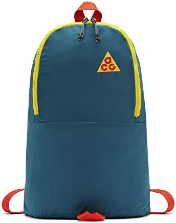 Nike ACG Packable Backpack Teal Red Yellow Ba5841 381