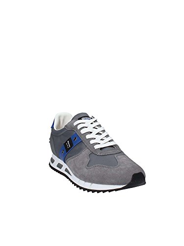 Basse Sneakers 40 Blauer 8SMEMPHIS05 Grigio Uomo ZY4CnAnwq