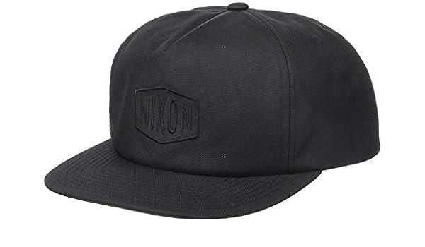 Nixon - Gorra de béisbol - para hombre All Black/Black Talla única: Amazon.es: Ropa y accesorios
