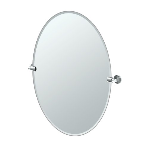 Gatco 4109LG Zone Large Oval Mirror