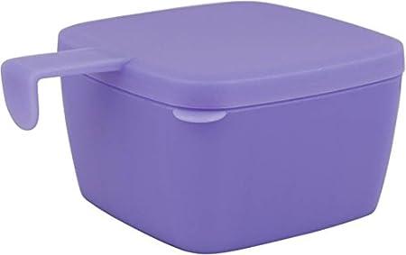 Tupperware Forget Me Plastic Multi purpose Container  500 ml, Violet  Jars   Containers