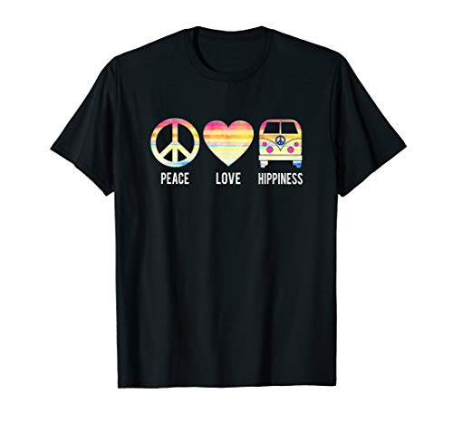 Peace Love and Hippiness   70's Retro Hippie Bus ()