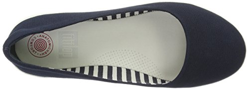 Fitflop Dames F-sportief Balletschoenen Schoenen Supernavie Canvas