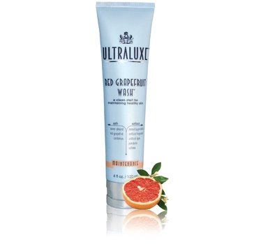 ULTRALUXE SKIN CARE Red Grapefruit Wash-new (paraben Free), 4.0 Oz.