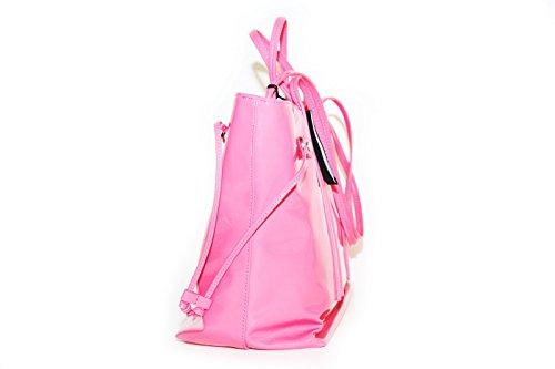 de rosa de Poliéster fucsia para Armani mujer Bolso asas aq5w0Av