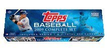 Topps MLB Baseball Cards 2009 Complete Factory Set (660 Cards Plus 10-Card Rookie Variation Pack) by Topps
