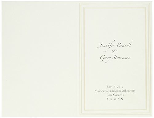 - Great Papers! Triple Pearl Embossed Border Ivory Bulletin, 5.5