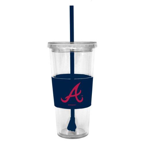 MLB Atlanta Braves Boelter Lidded Cold Cup with ()