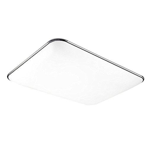 48W LED Deckenleuchte Warmweiß Modern Deckenlampe Ultraslim ...