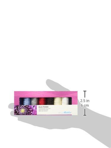 Metrosene Metsfc8/Finition Soie Coton Cadeau Set8pc Mettler Finition Soie Coton Cadeau Lot de 8/pi/èces