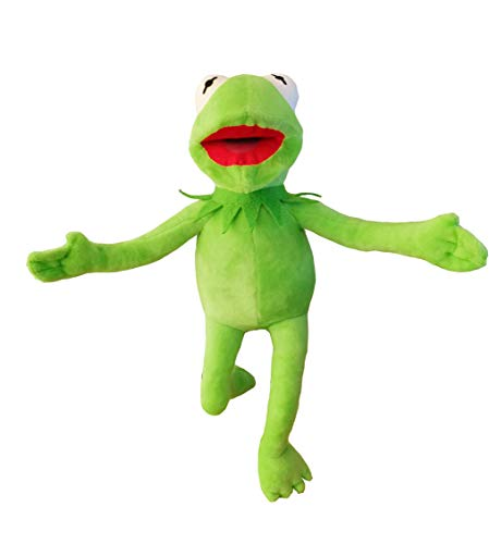 Kermit Funny Face (illuOKey Kermit The Frog Plush Doll, The Muppets Movie Soft Stuffed Plush Toy, 16)