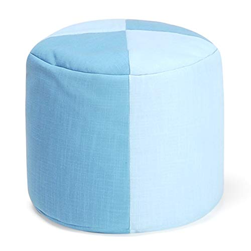 Friendly Footstools - CAIJUN Footstool Multifunction Portable Environmentally Friendly Particle Filling Leisure Square Gift, 18 Styles (Color : L, Size : 40x35cm)