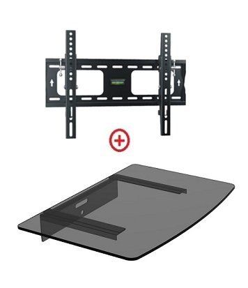 Mount World 952T43 Low Profile LCD LED Plasma TV Tilt Wall M