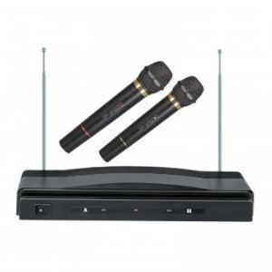 Supersonic SC-900 Professional Wireless Dual Microphone System Kit
