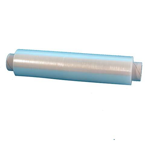 4 Rollen Frischhaltefolie Klarsichtfolie PE 45x45cm Abschnitte Abrisse vorperforiert 500m auf Rolle