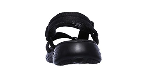 Skechers Femme Cheville Noir Brilliancy The 600 Go Sandales Gris on Bride PrZqP