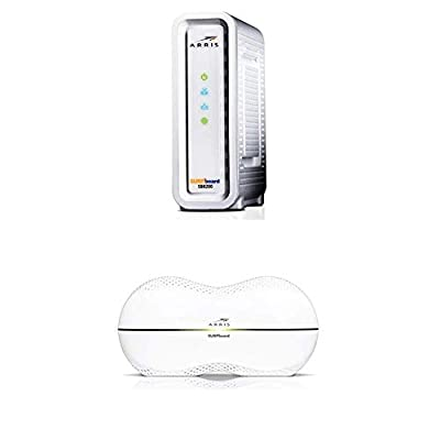 ARRIS SURFboard SB8200 Docsis 3.1 Modem / ARRIS RipCurrent AC3200 Tri-Band Wi-Fi Router