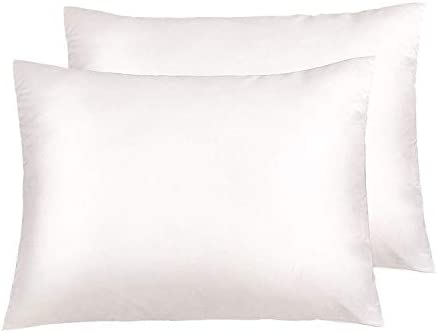 Super Soft and Luxury Standard Pillow Cases Se NTBAY Zippered Satin Pillowcases